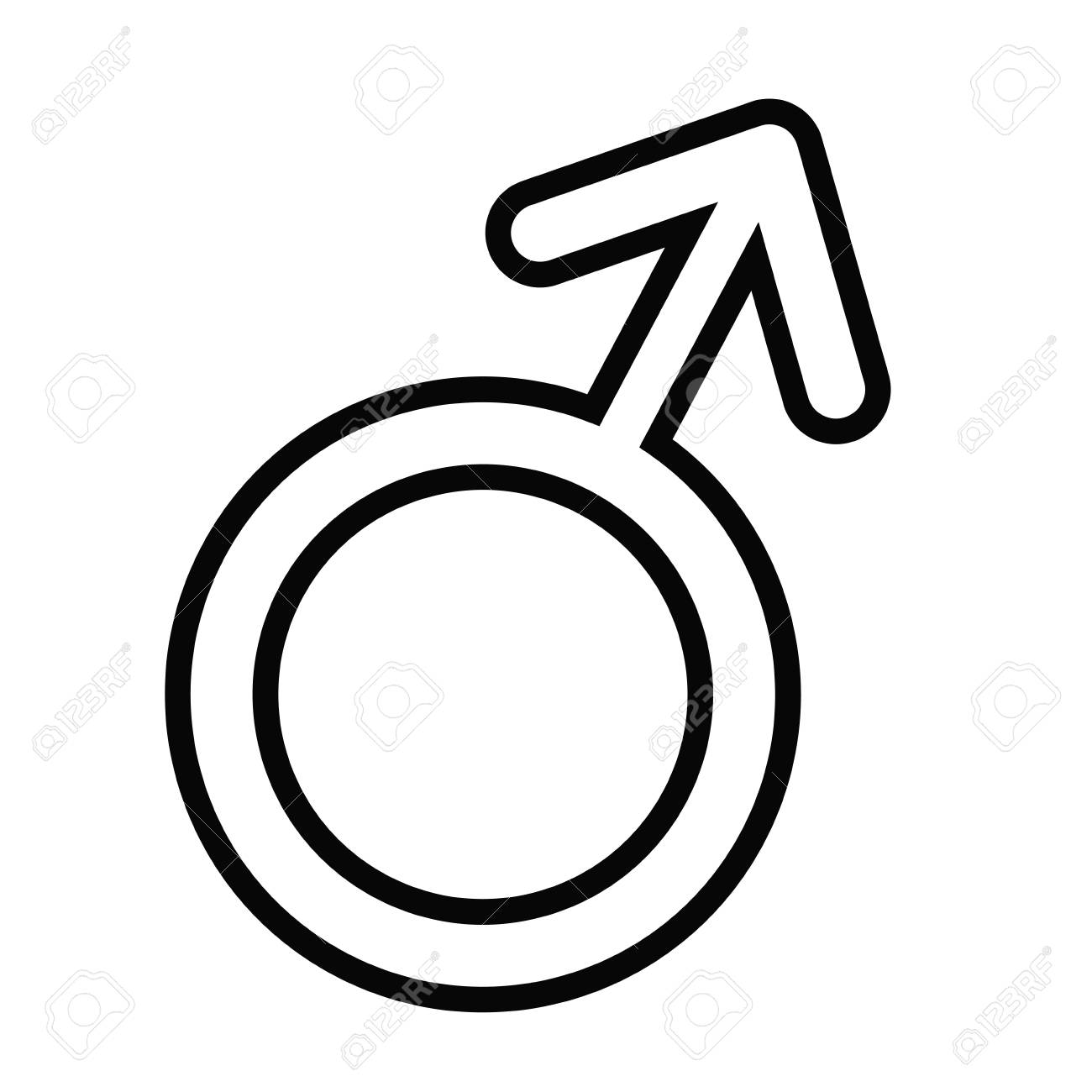 male gender icon over white background vector illustration royalty free cliparts vectors and stock illustration image 76566677 male gender icon over white background vector illustration