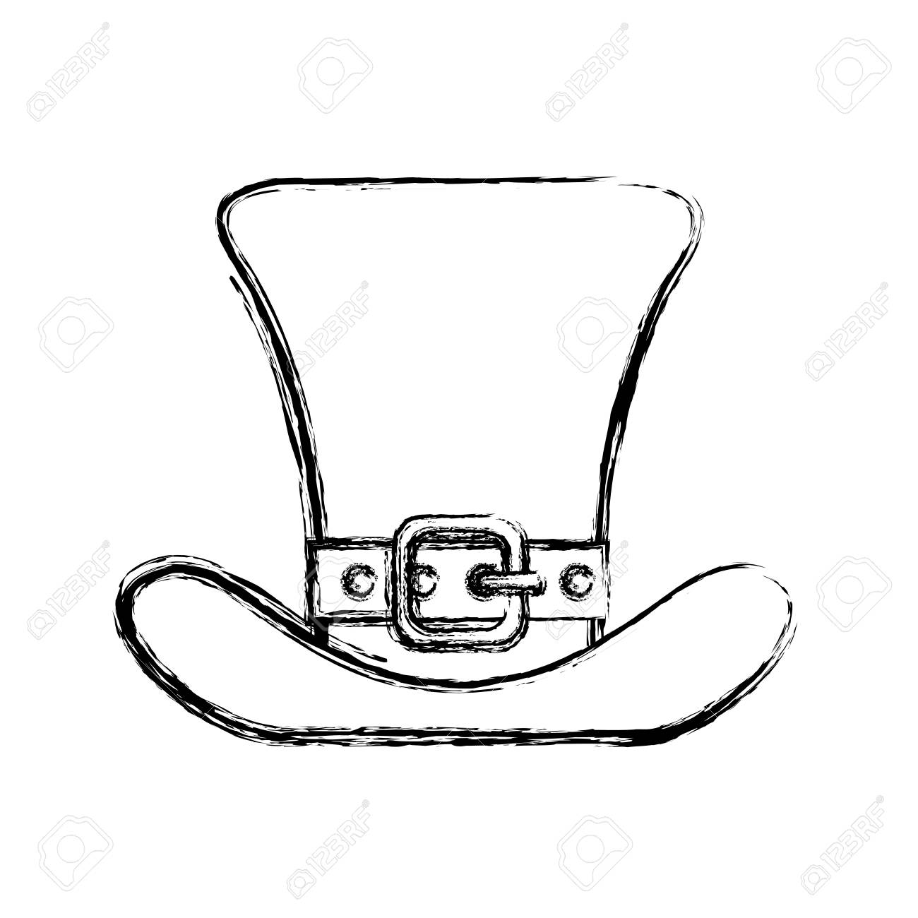 3ba46bedb56 Irish elf hat icon vector illustration graphic design Stock Vector -  76681489