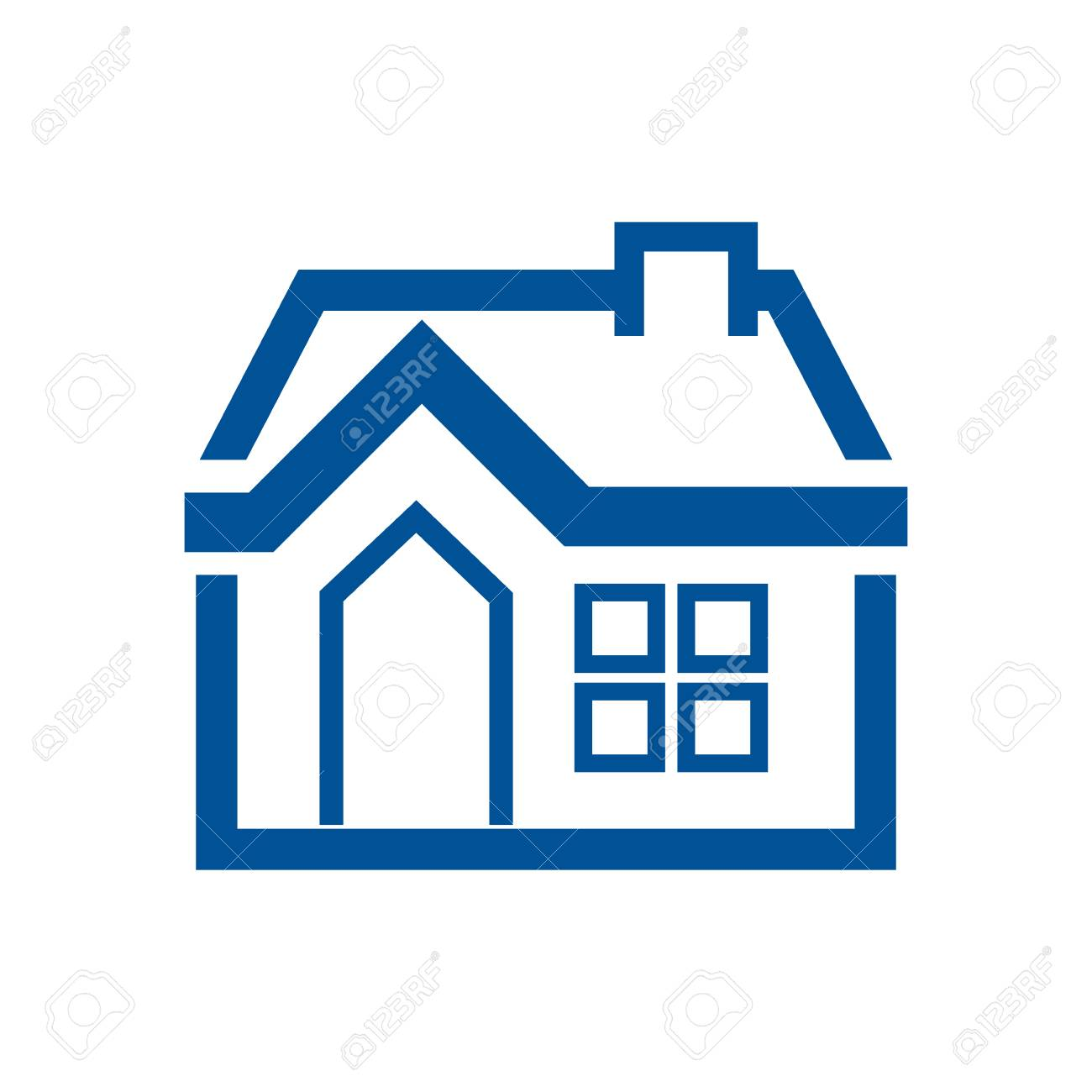 home draw house vector icon illustration graphic design royalty free rh 123rf com house icon vector free download house vector freepik