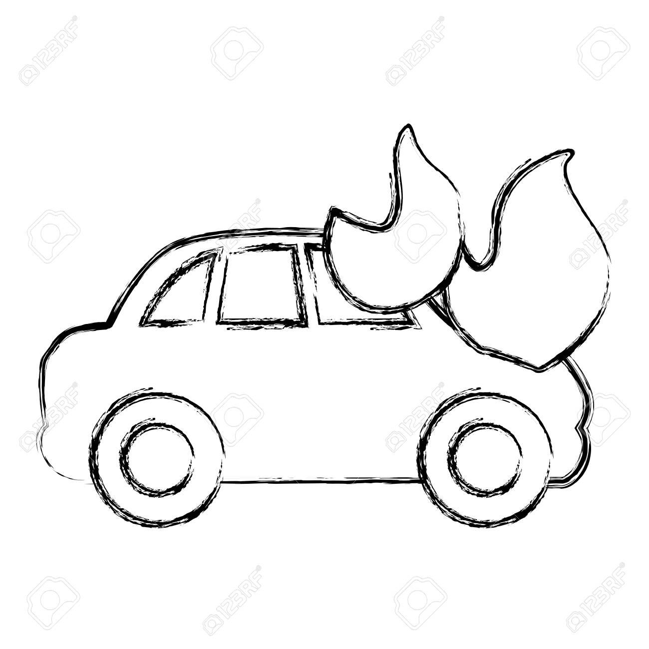 Modern Car Accident Sketch Elaboration - Electrical Diagram Ideas ...