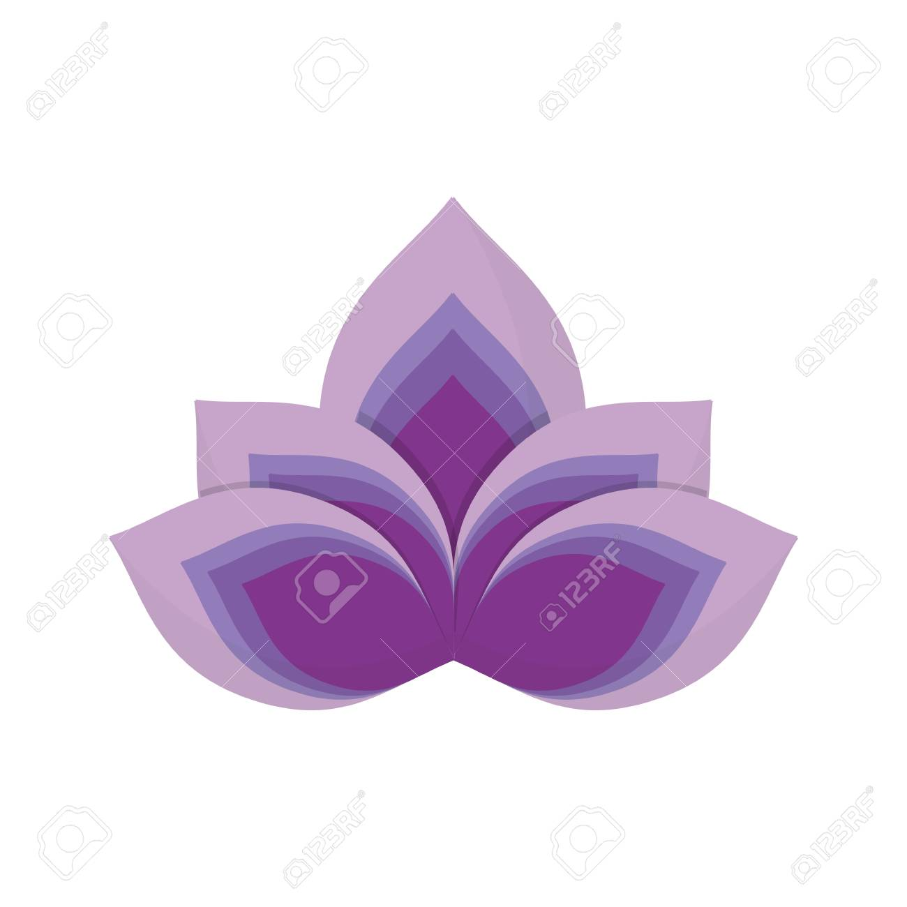 Lotus flower symbol icon vector illustration graphic design royalty lotus flower symbol icon vector illustration graphic design stock vector 81065277 izmirmasajfo