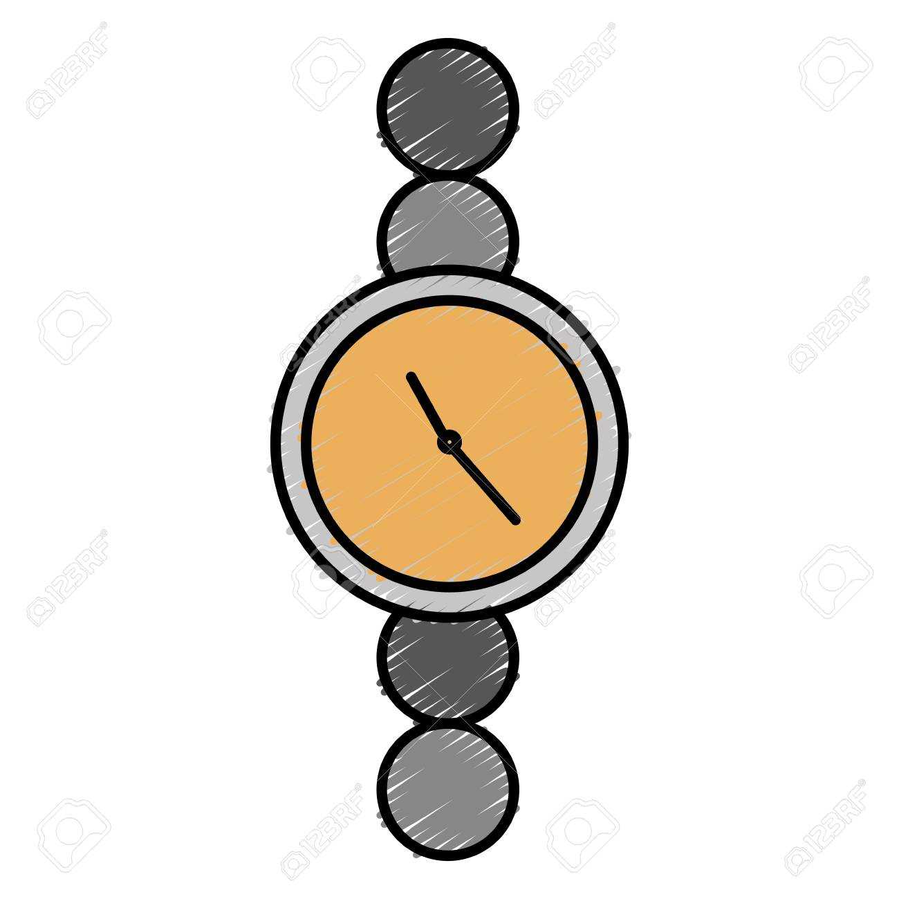watch icon over white background vector illustration royalty free rh 123rf com vector watch account vector watch problems