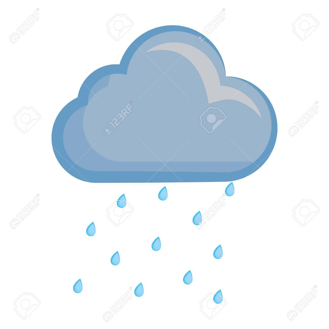 Cloud weather symbol cartoon - 92594966