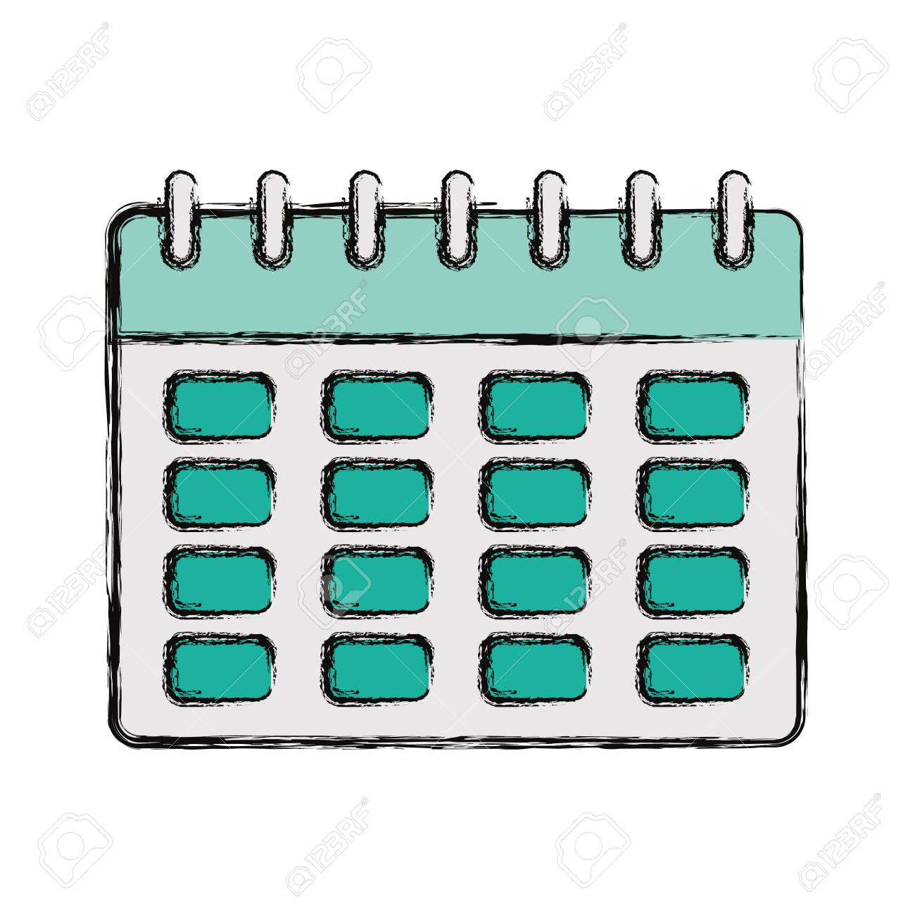Image result for colorful calendar drawing