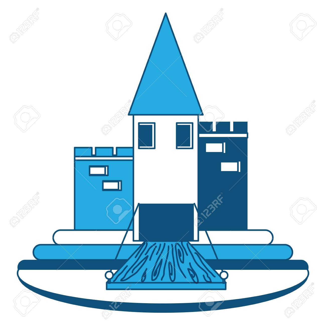 Medieval Castle Design Royalty Free Cliparts, Vectors, And Stock ...