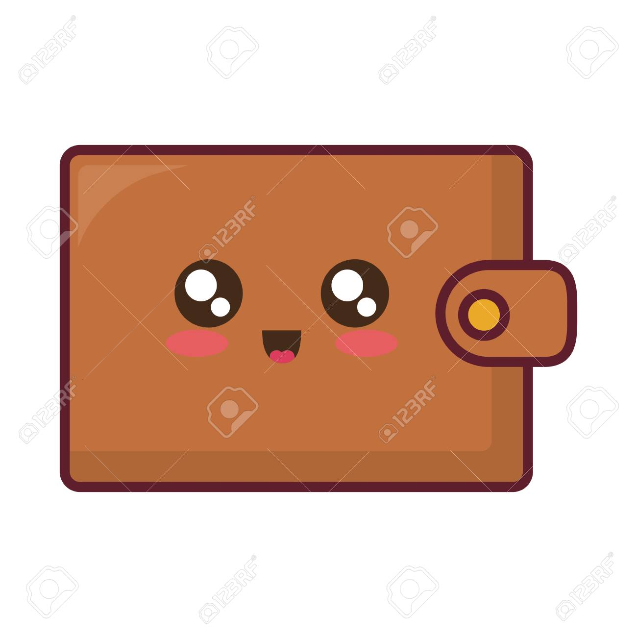 cute wallet accessory icon over white background colorful design royalty free cliparts vectors and stock illustration image 96984289 cute wallet accessory icon over white background colorful design