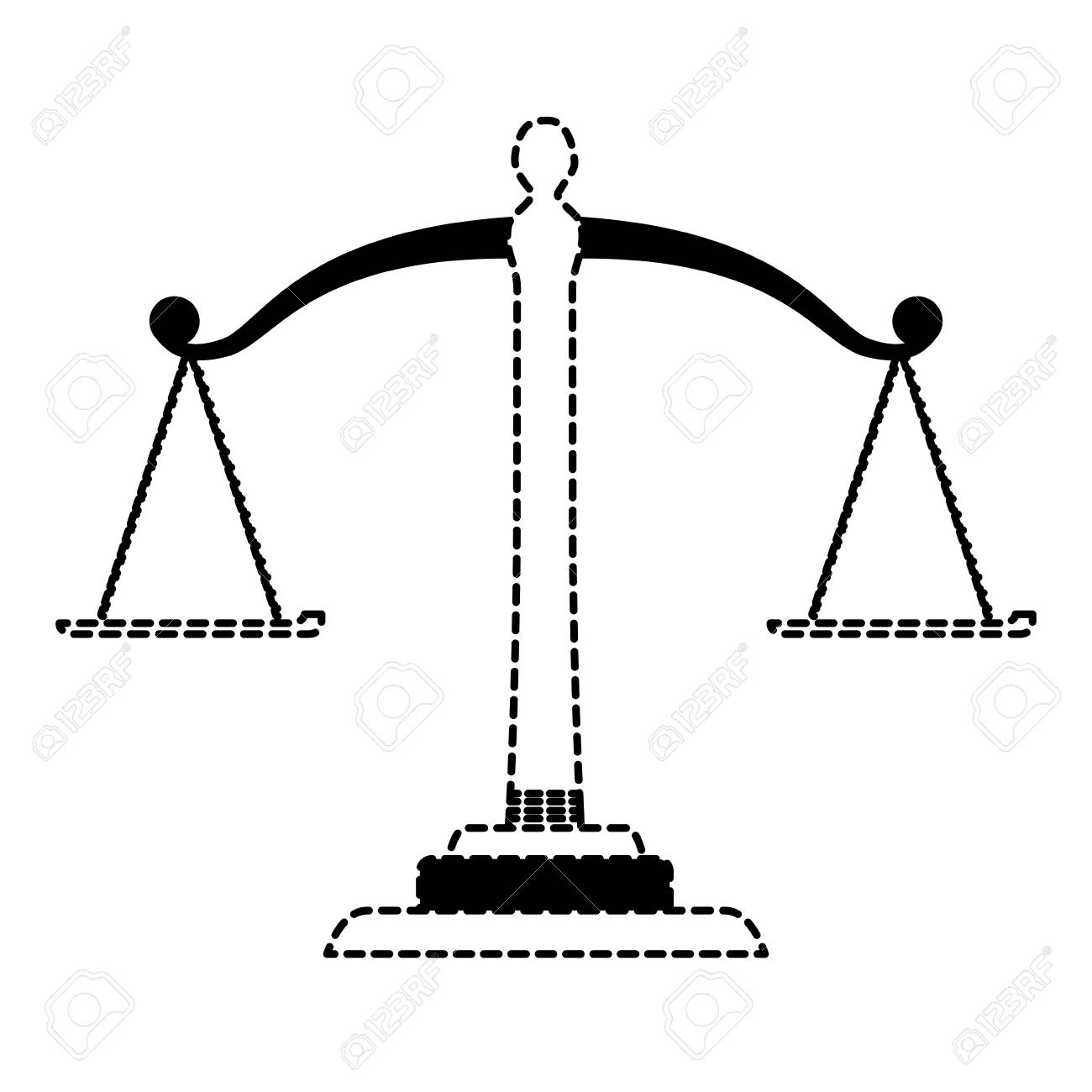 law scale icon over white background vector illustration royalty rh 123rf com vector scale mathematica vector scale programs