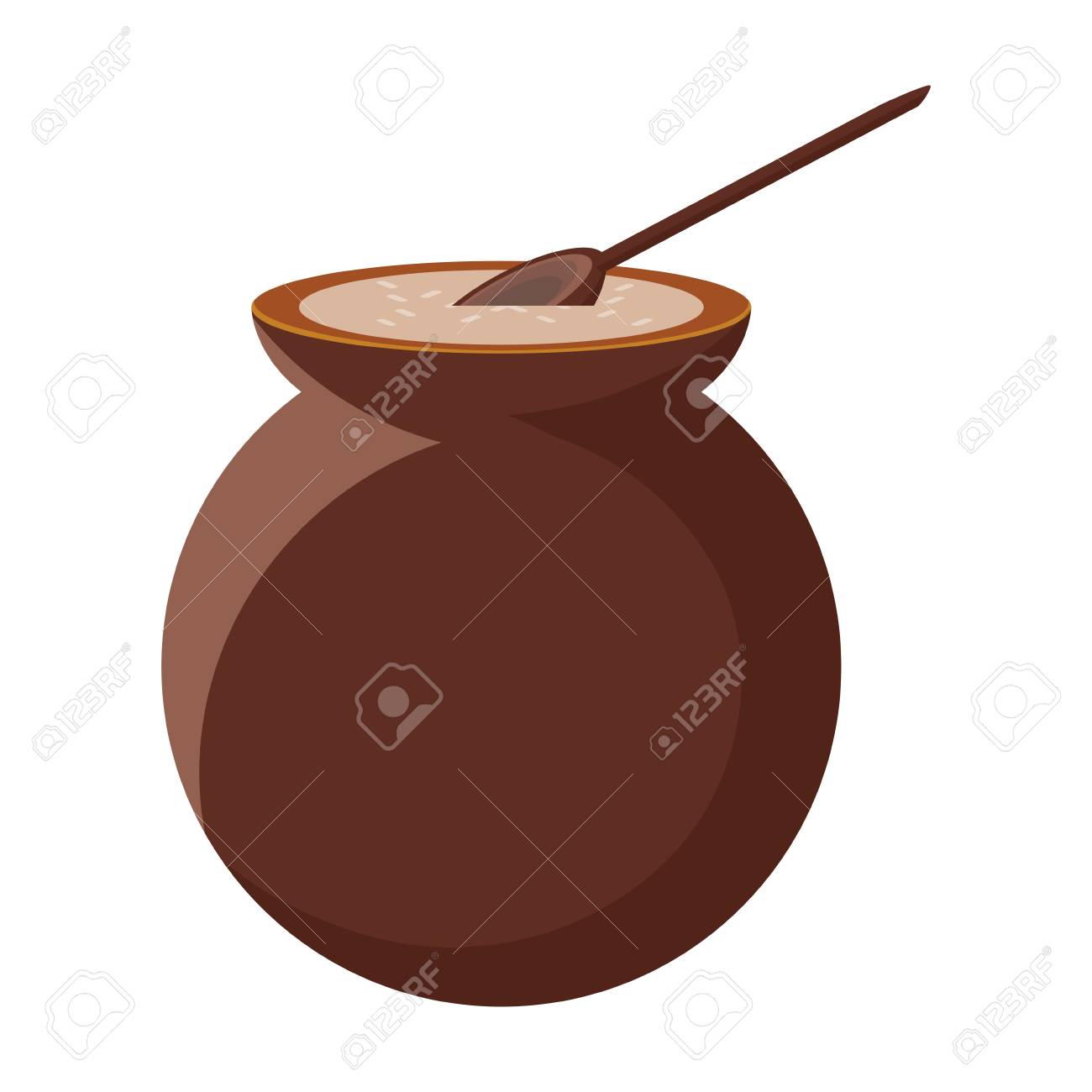 mexican coffee cafe de olla icon over white background, colorful design. vector illustration - 99248117