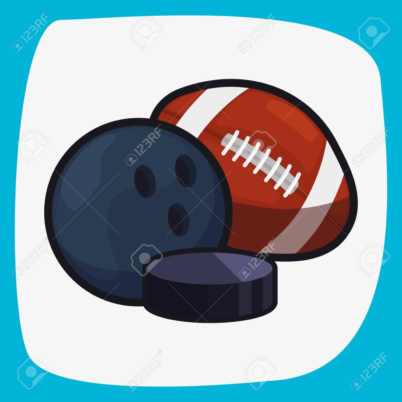 soccer baseball basketball balls sport vector illustration design - 136001908