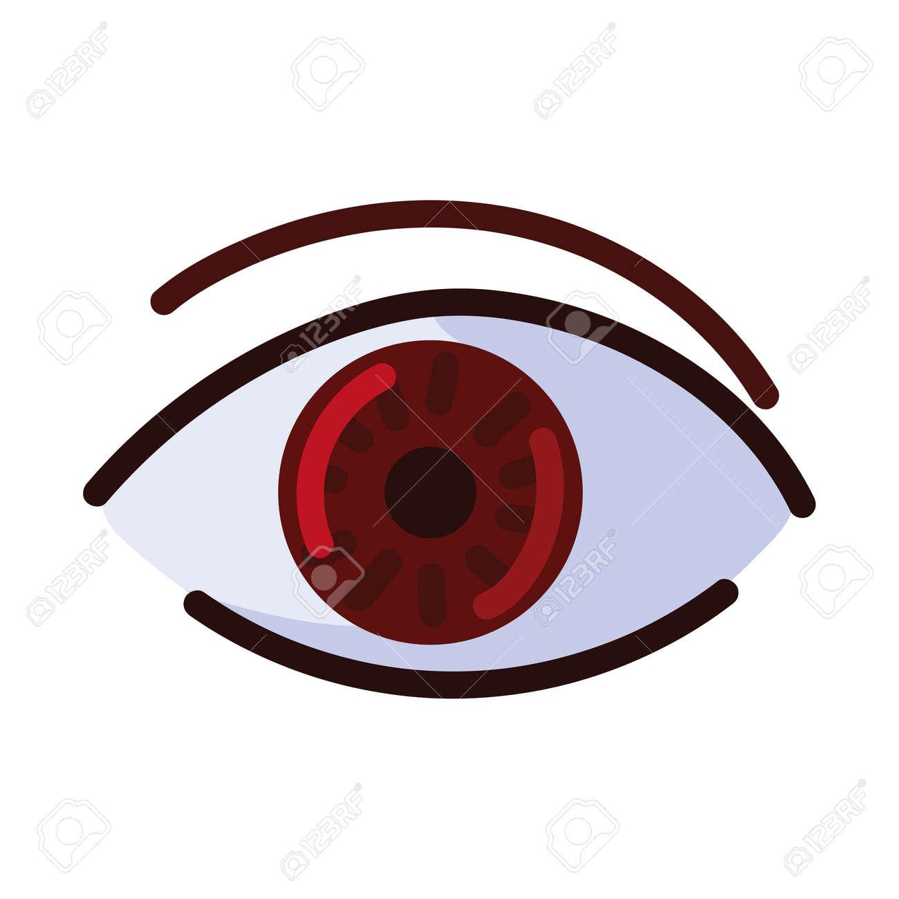 cyber surveillance eye - 169904279