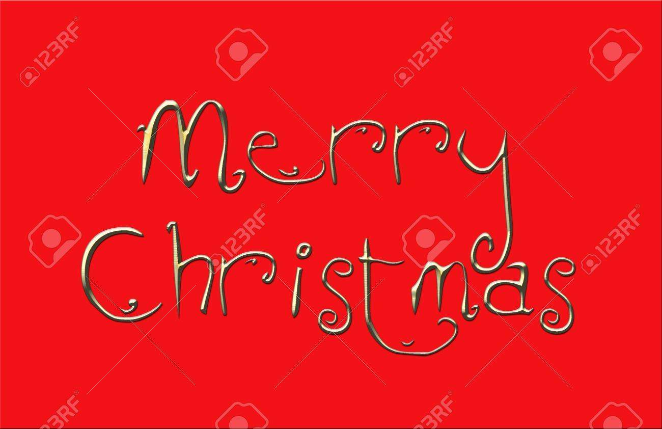 Ornate greeting the words merry christmas on red background stock ornate greeting the words merry christmas on red background stock photo 3842766 m4hsunfo
