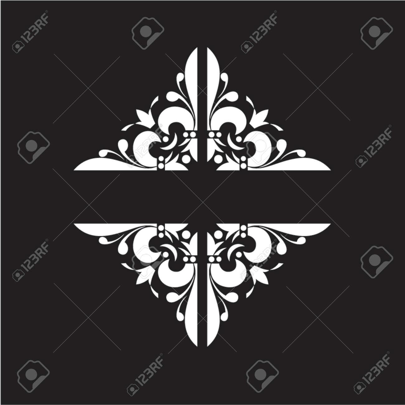 Decorative Vintage Ornate Banner. Stock Vector - 1279843