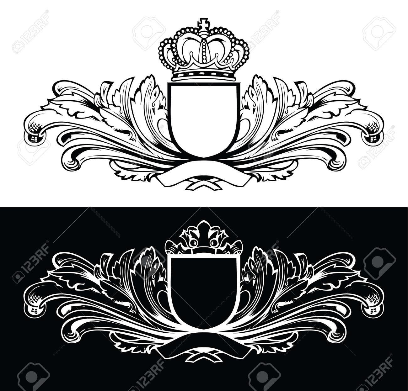 Eine Farbe König Frames Lizenzfrei Nutzbare Vektorgrafiken, Clip ...