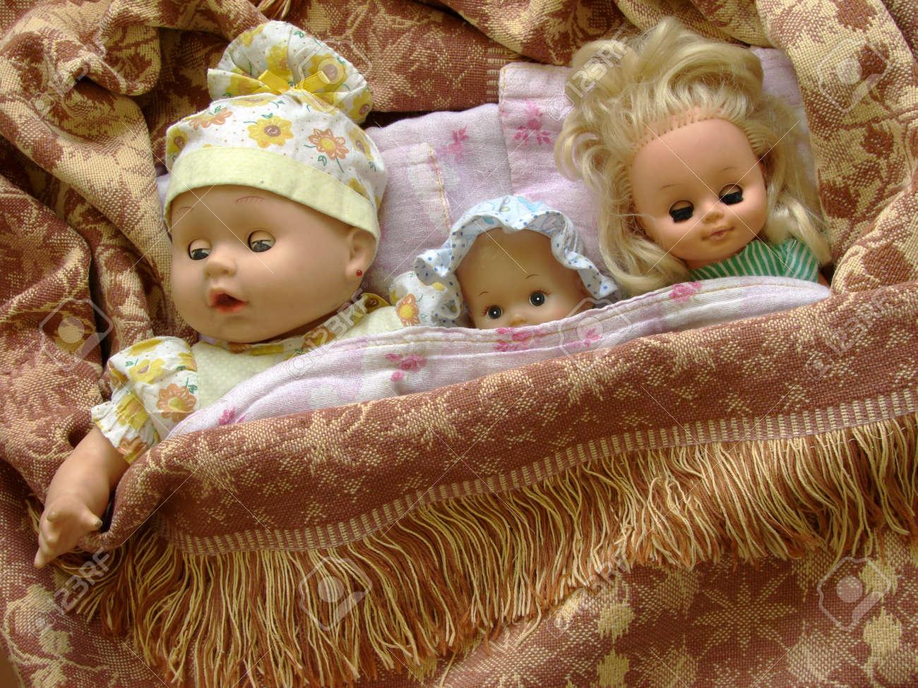 Старые в постели