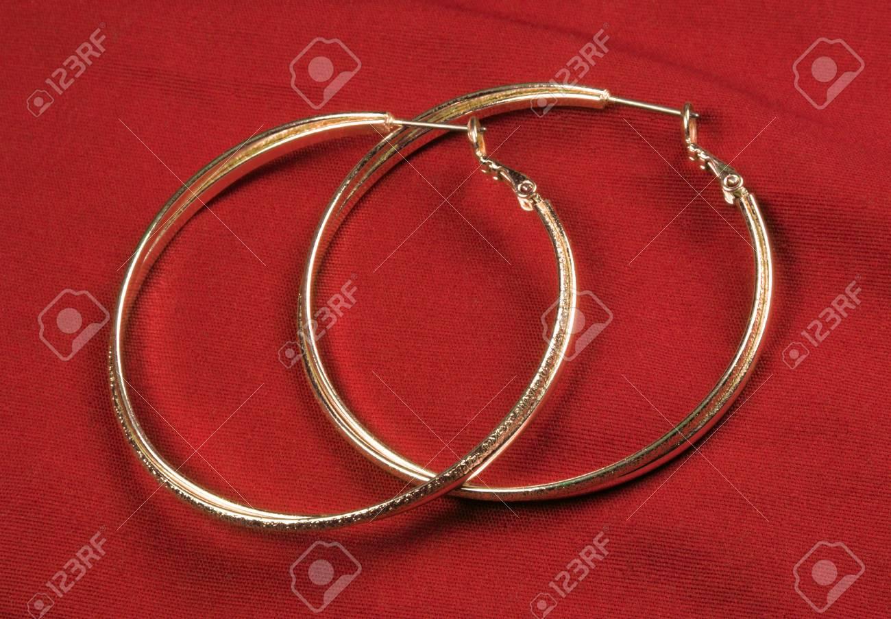 Fantasy Round Earrings Stock Photo - 13485895