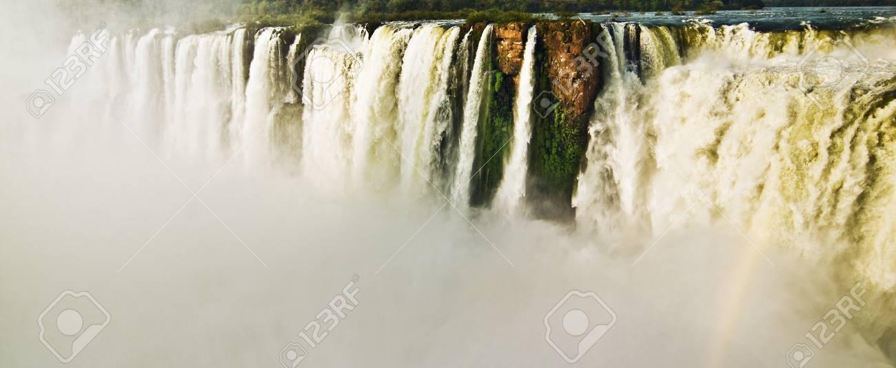 Iguazu Falls Panoramic Stock Photo - 15397899