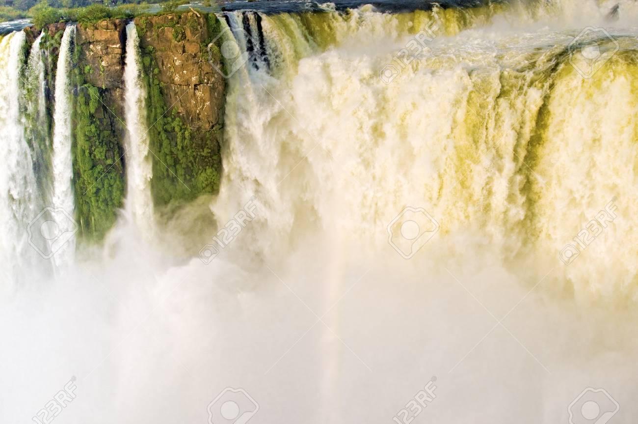Iguazu Falls Devils Throat Stock Photo - 15420484