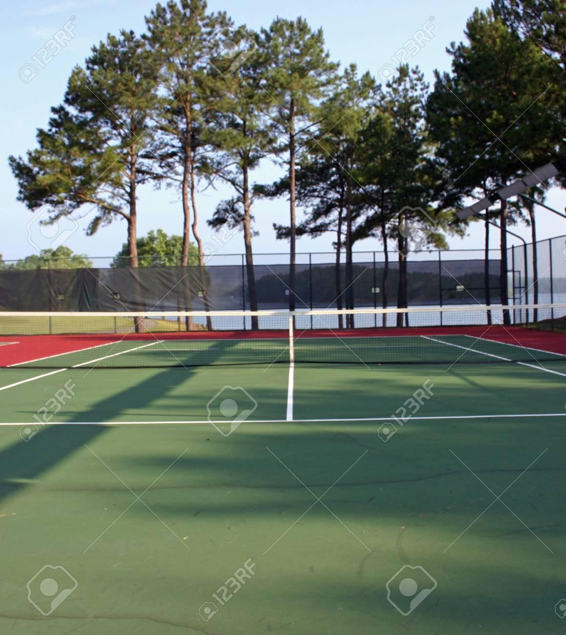 Tennis Court Stock Photo - 218626