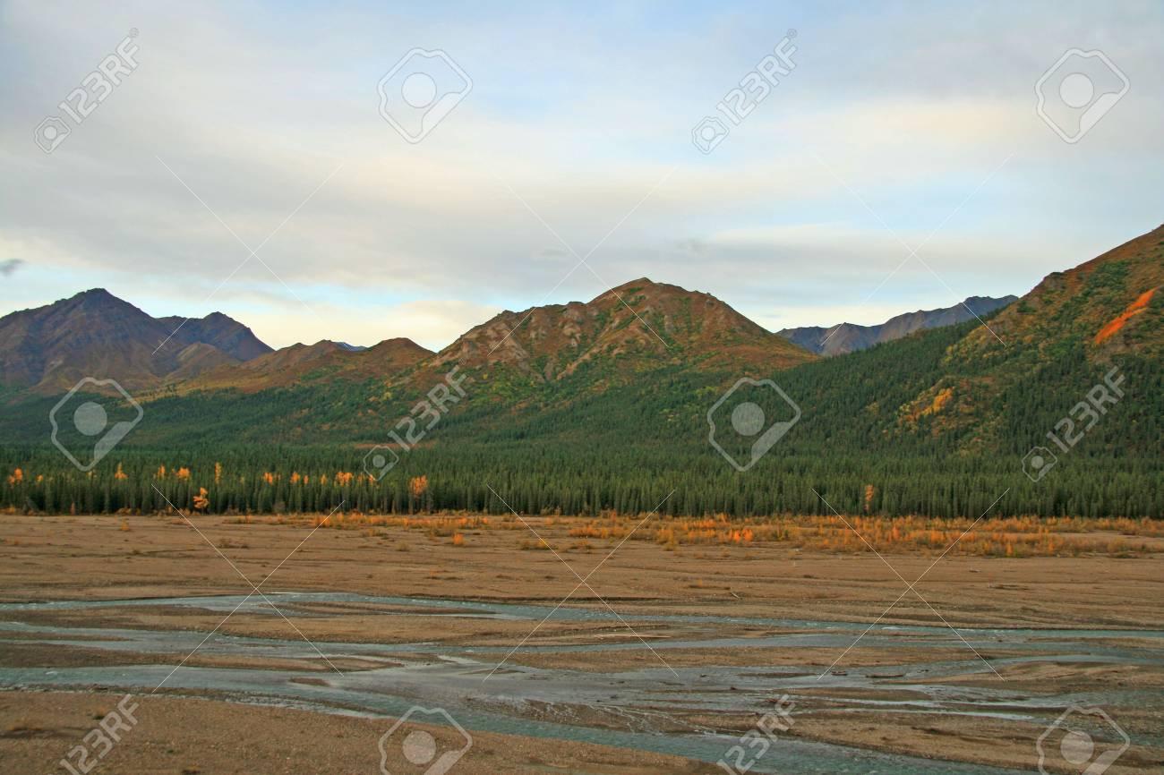 Basin in Alaska Stock Photo - 1806244