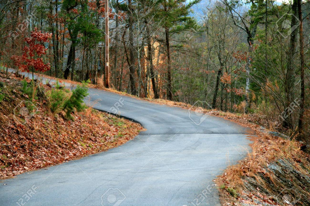 country road Stock Photo - 2302517