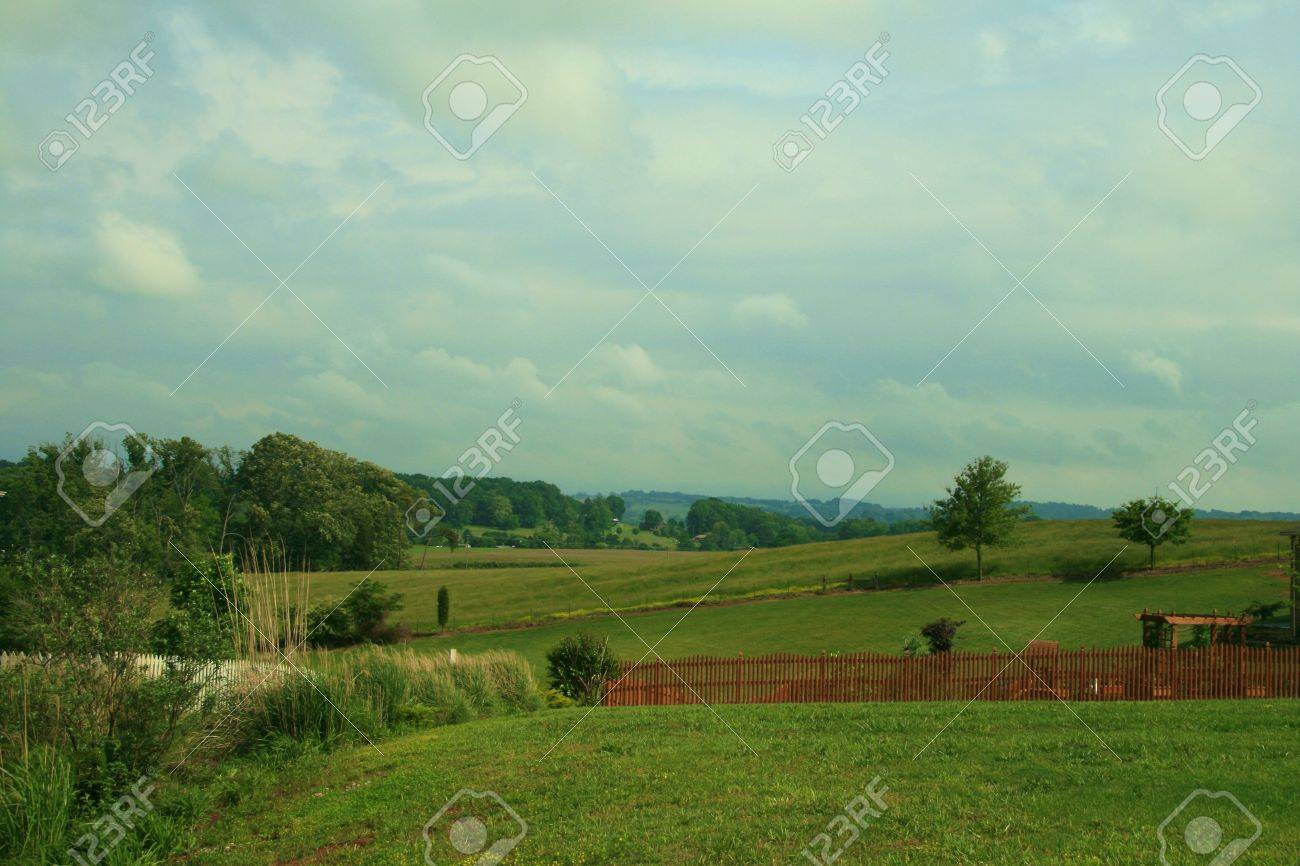 Tennessee Rural Area Stock Photo - 3088066
