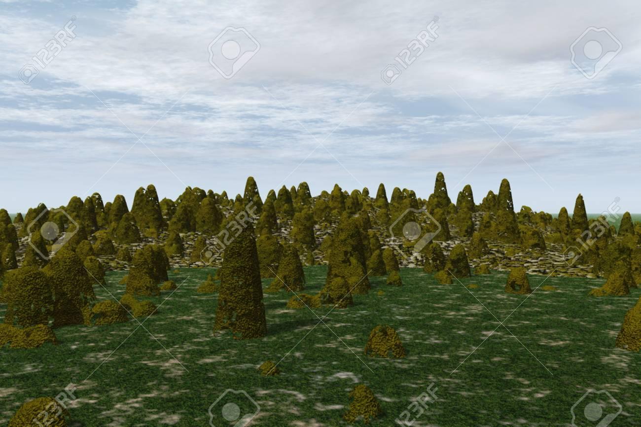 Forest Landscape Stock Photo - 4049769