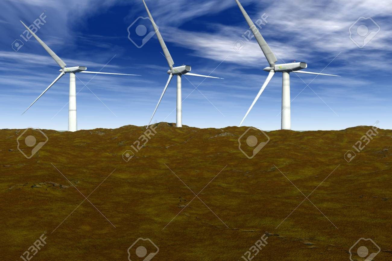 Wind Energy Stock Photo - 4068929