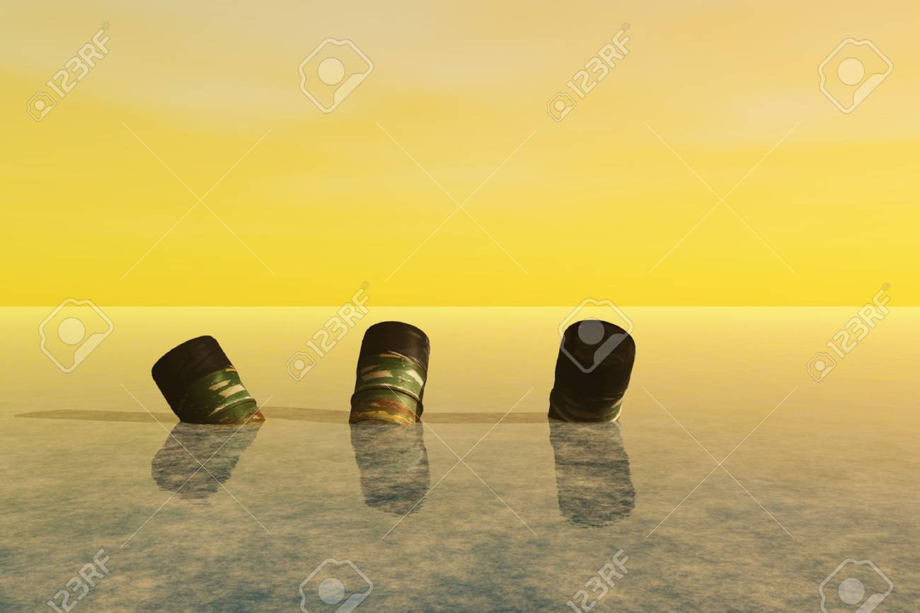 4701195-empty-barrels-of-waste-dumped-in