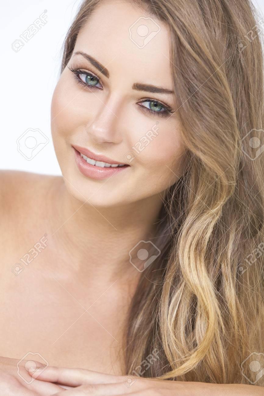 Augen männlich blond grüne Haar