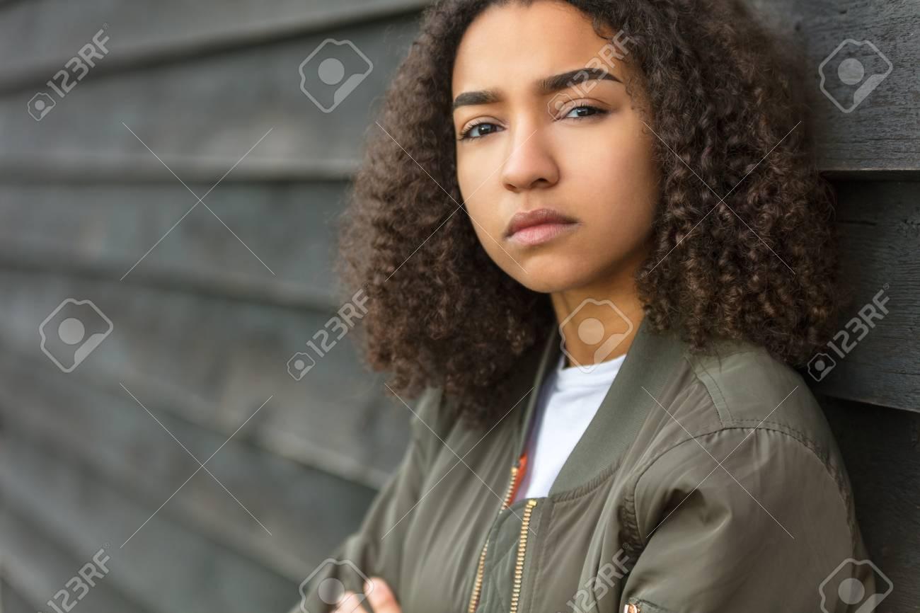 Belle Fille Metisse belle métisse, afro-américaine, fille, adolescent, femme, jeune