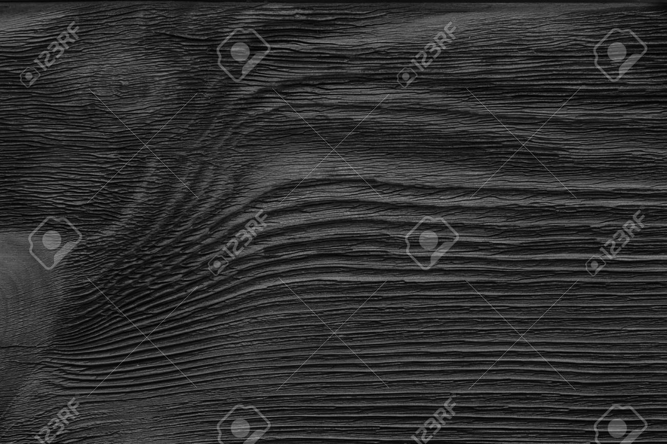 Stock photo weathered barn wood background black and white color monochrome dark wooden texture