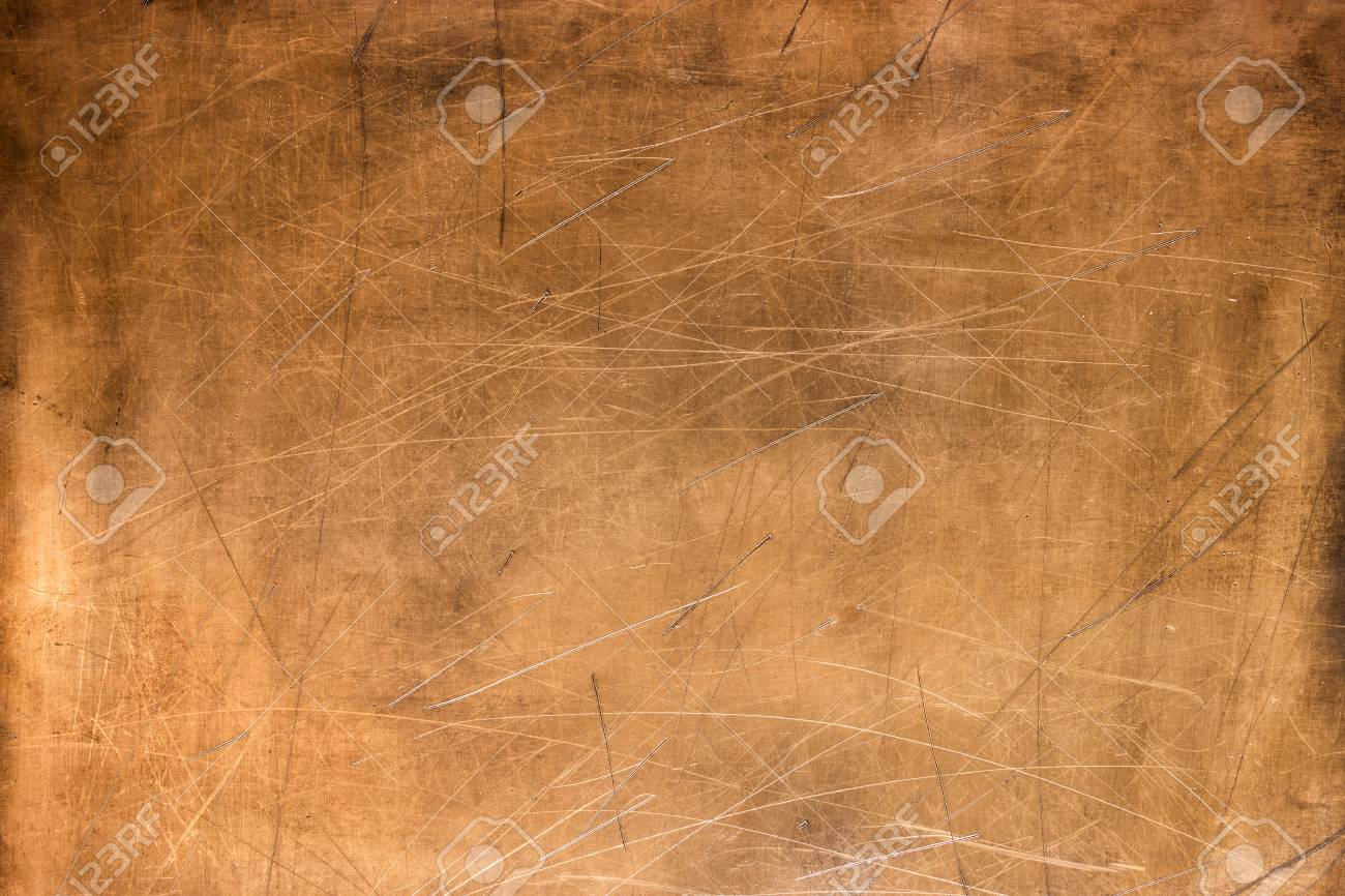 Bronze texture, metal plate as background or element for design - 93467072