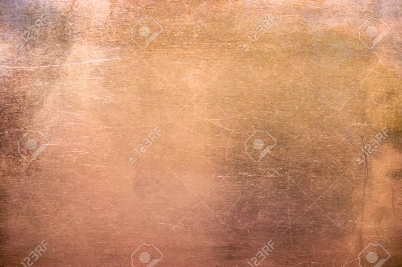 pattern copper or bronze, non-ferrous metal texture - 99525968