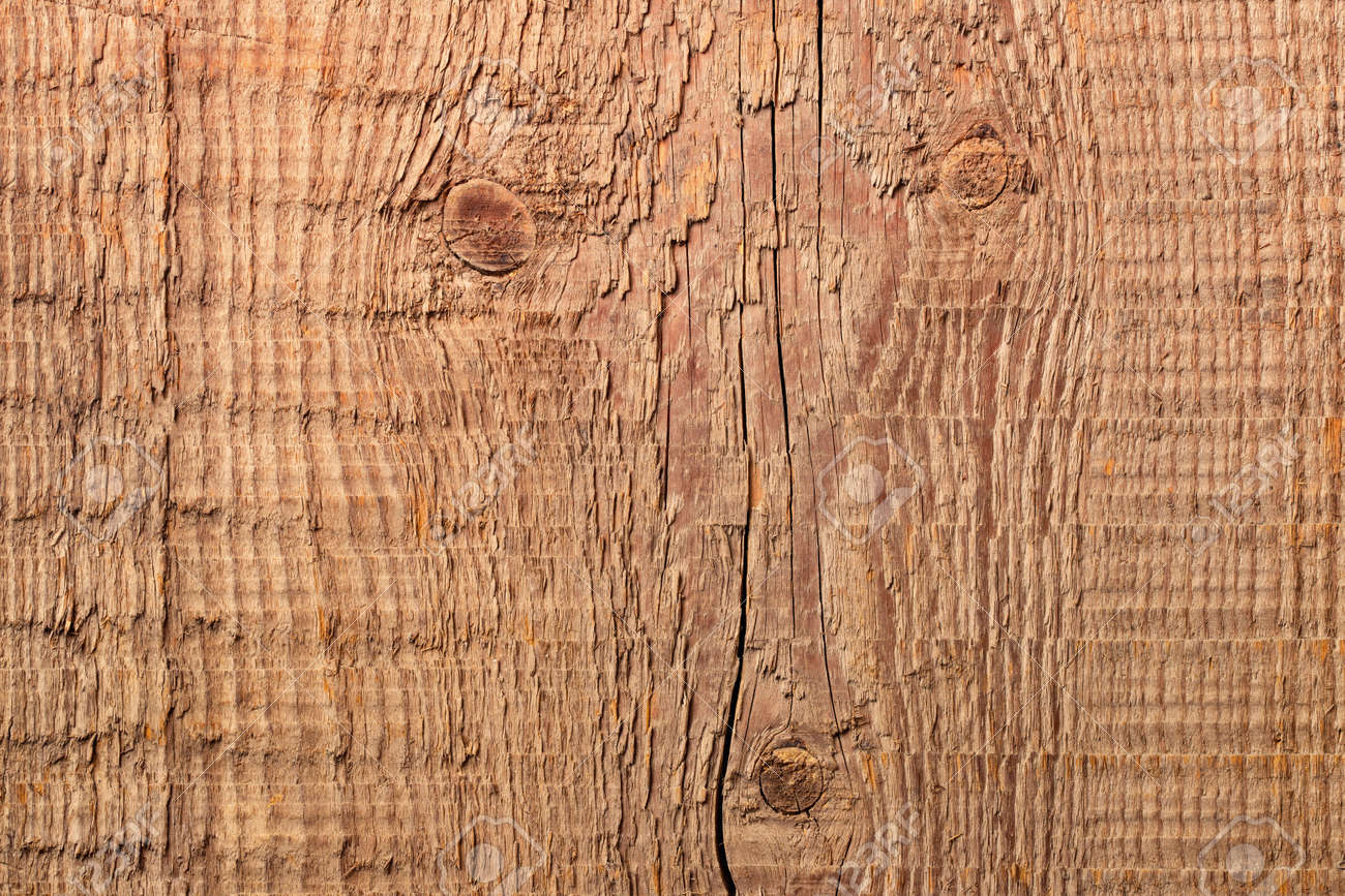 vintage board with a natural pattern, old wood texture - 172137280