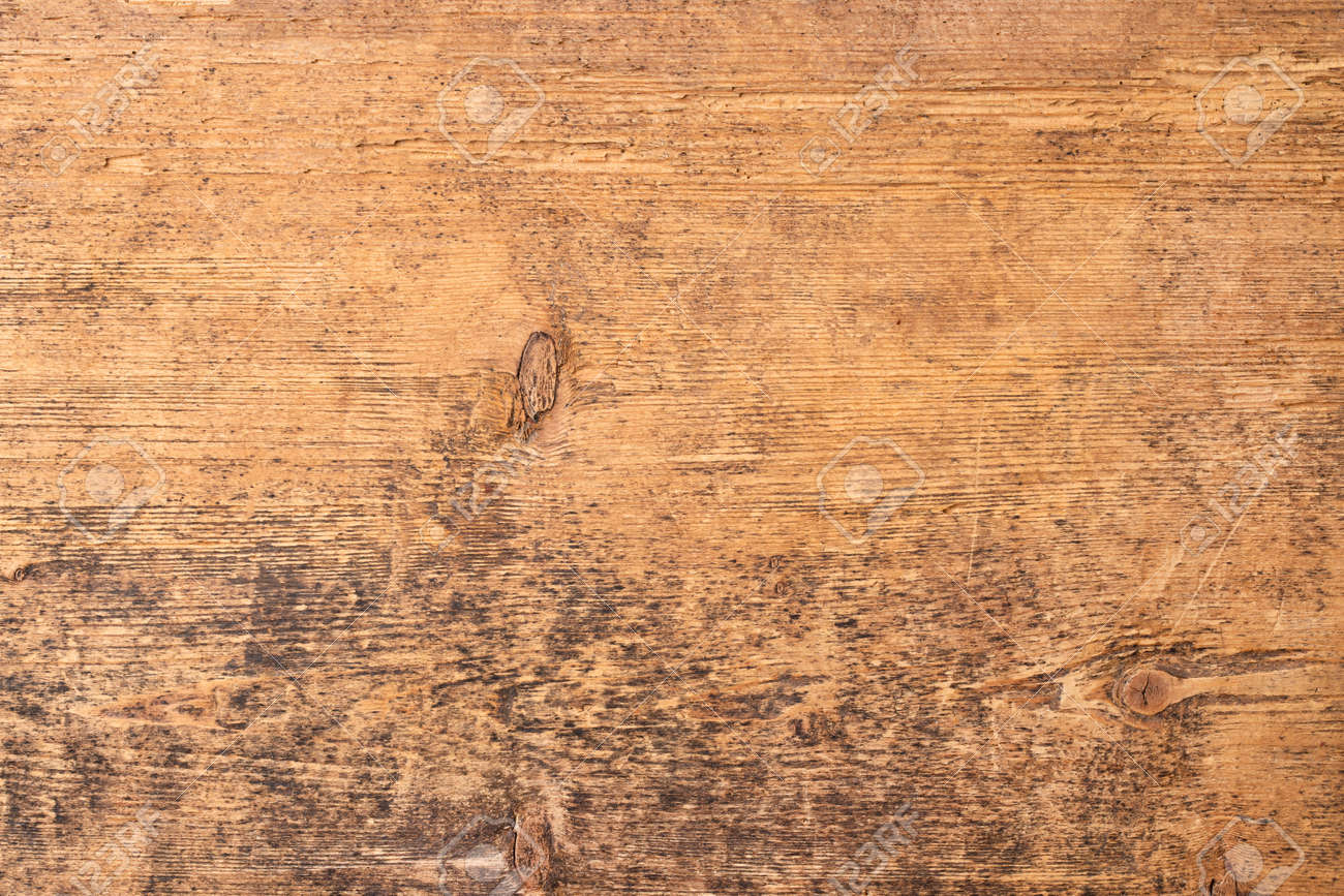 vintage board with a natural pattern, old wood texture - 172598561