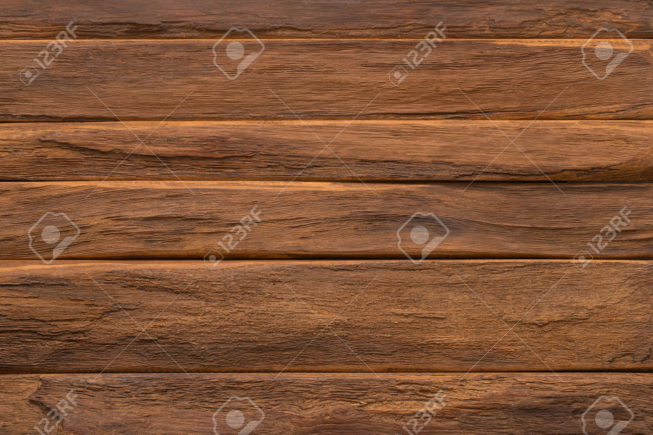 dark wood texture, brown planks table background - 172598985