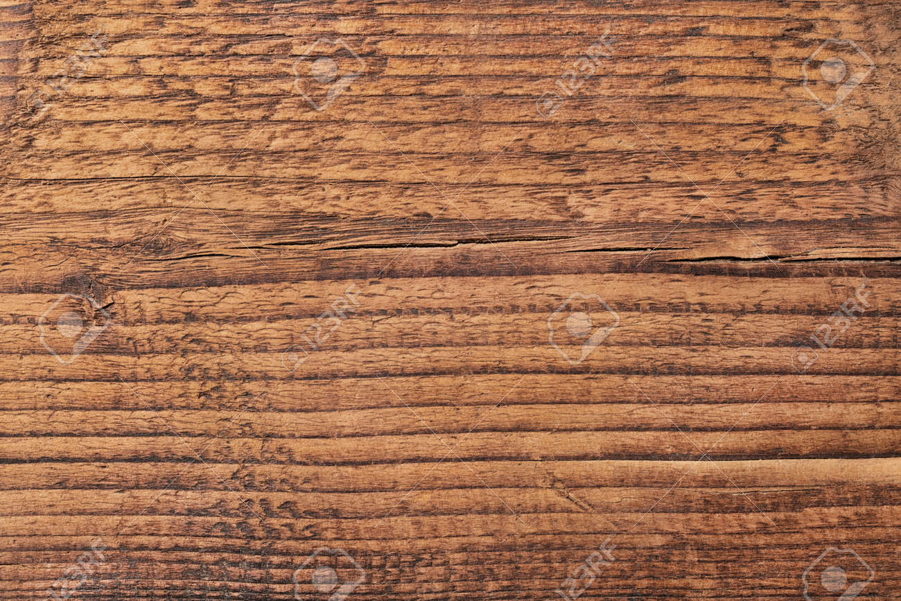 Dark wooden table or board texture. Brown wood background - 172928995