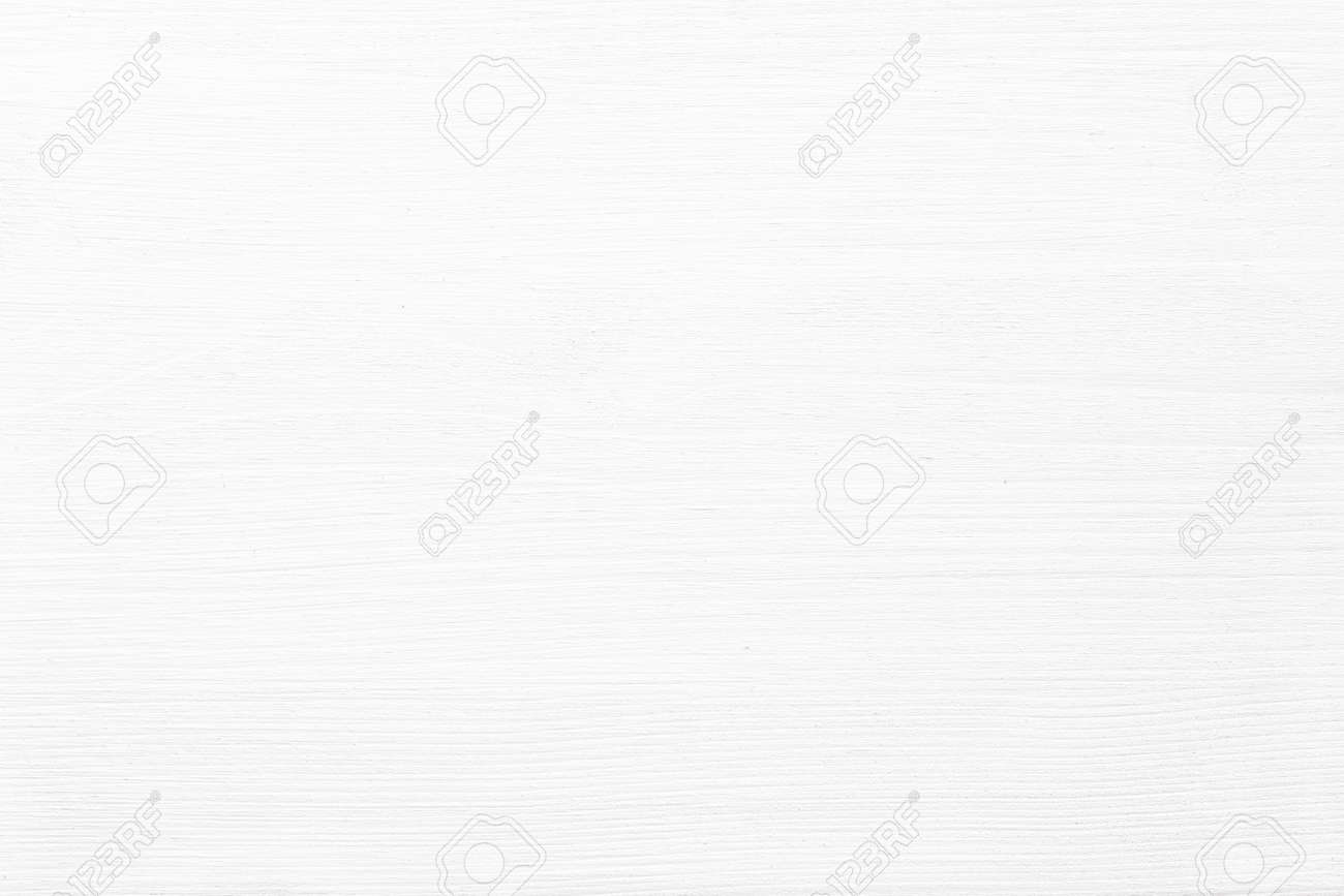 light plank table as background. white wood texture wall panel - 172980427