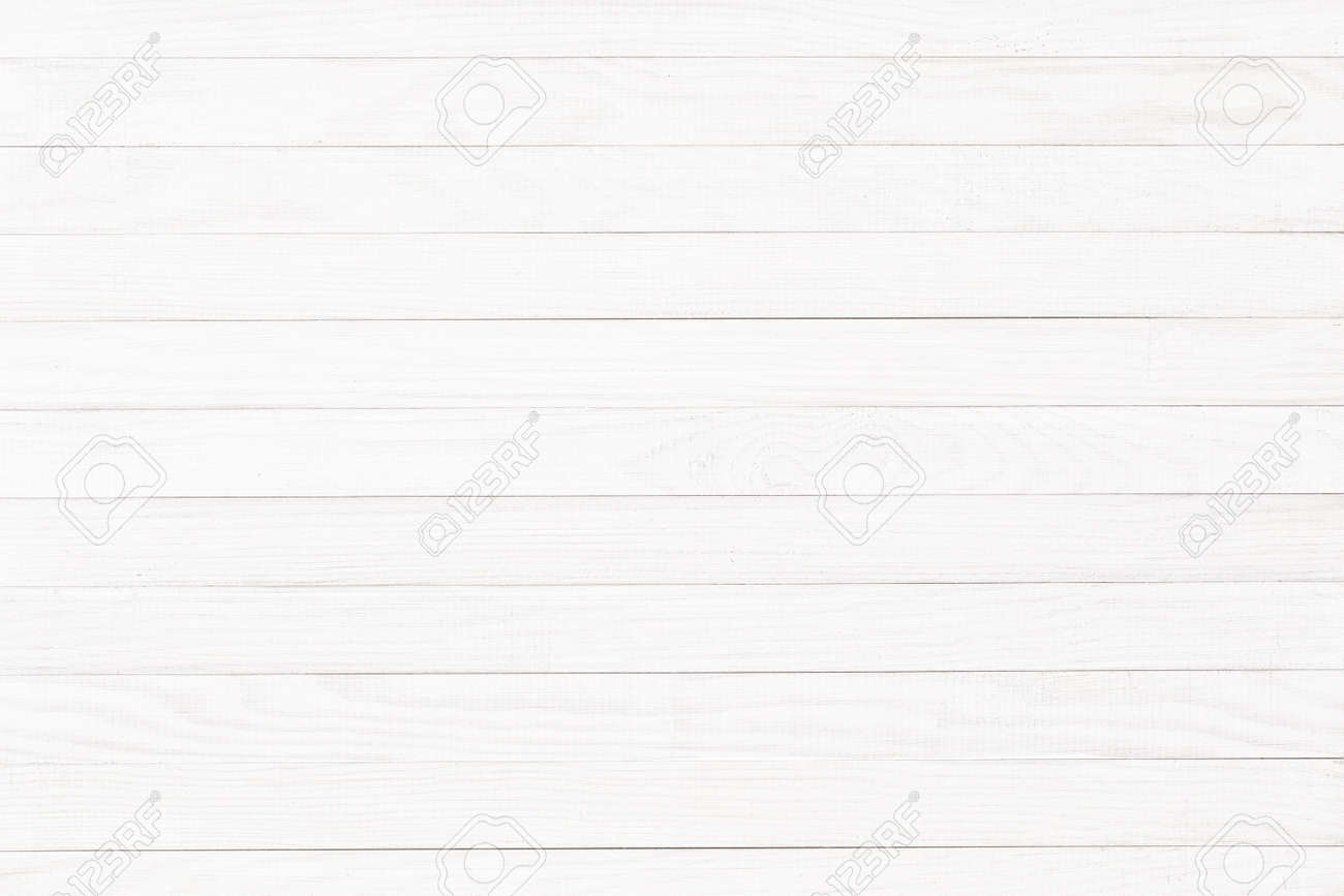 white wood texture, natural plank surface as background - 173142512