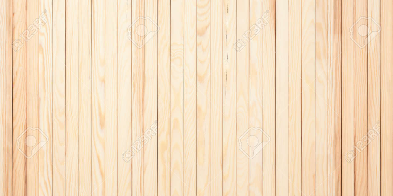 light wooden background, planks template with blank space - 173314577