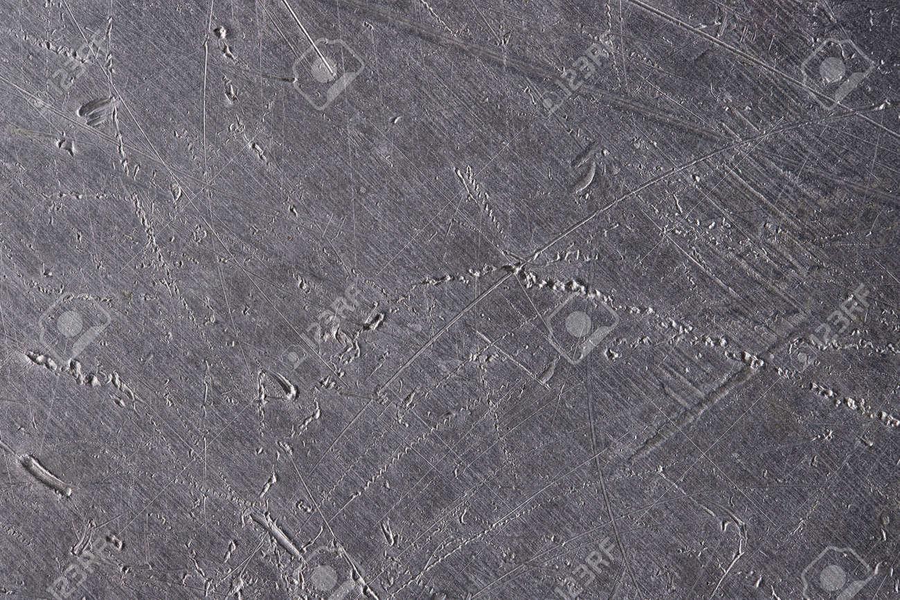 worn aluminum surface, metal texture. silver background - 173736175