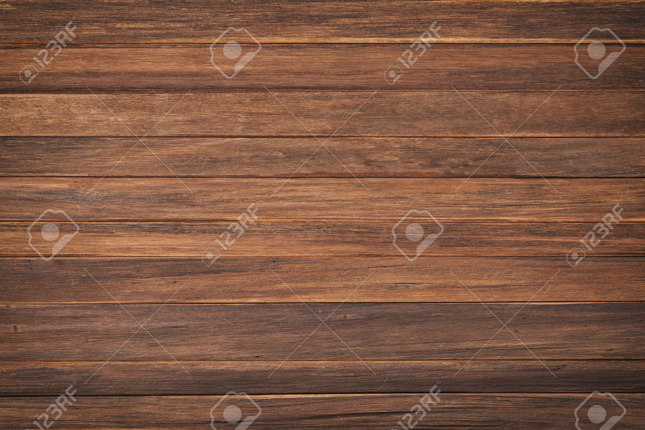old brown boards, top view. brown wood texture background - 173451549