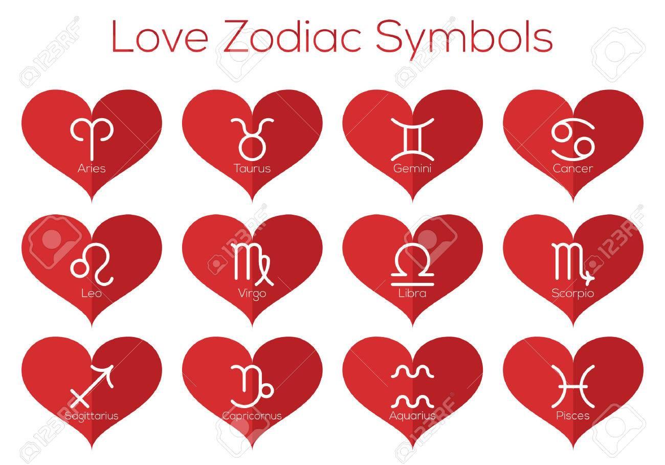 amor símbolos del horóscopo los signos astrológicos del zodíaco