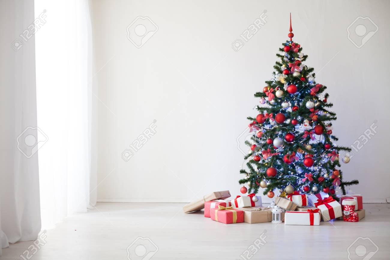 christmas decor white room new year tree gifts stock photo picture and royalty free image image 89146189 christmas decor white room new year tree gifts