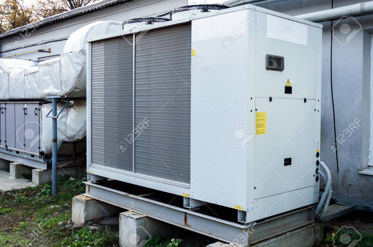 commercial ac unit for central ventilation system stock photo 97390004 - Commercial Ac Units