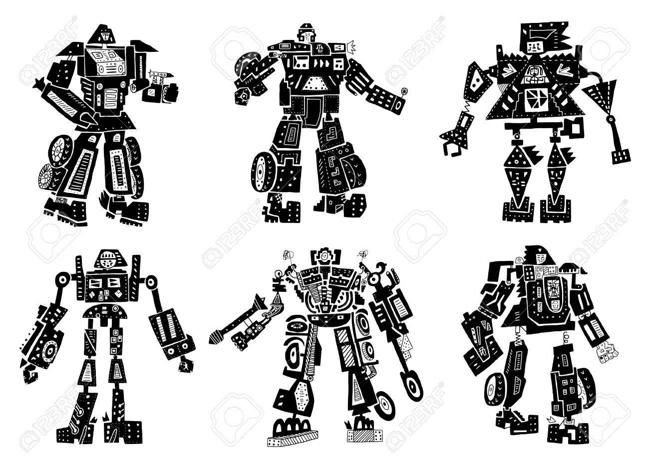 The symbolic image of robots - 20298531