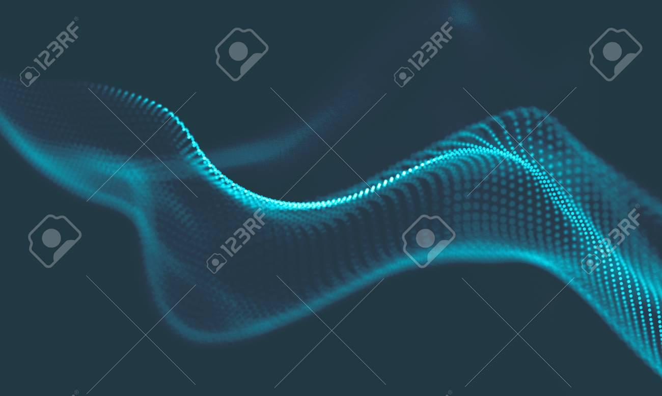 Immagini Stock Astratto Sfondo Geometrico Blu Image 75407225