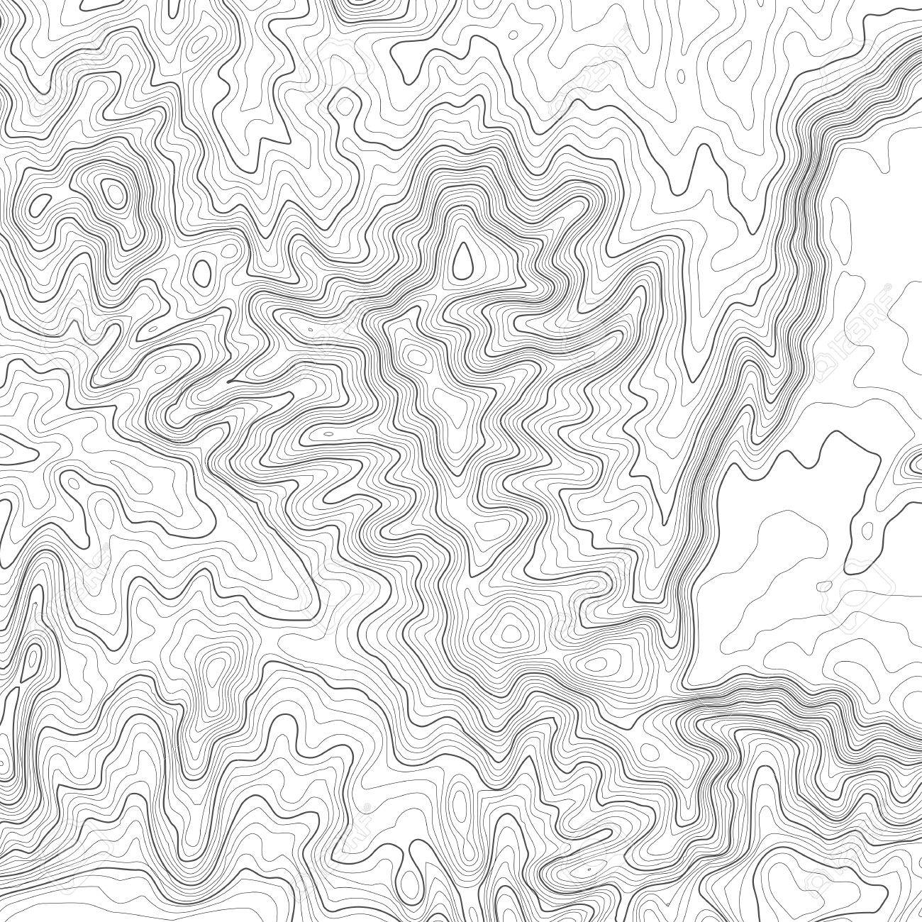 topographic map background with space for copy line topography