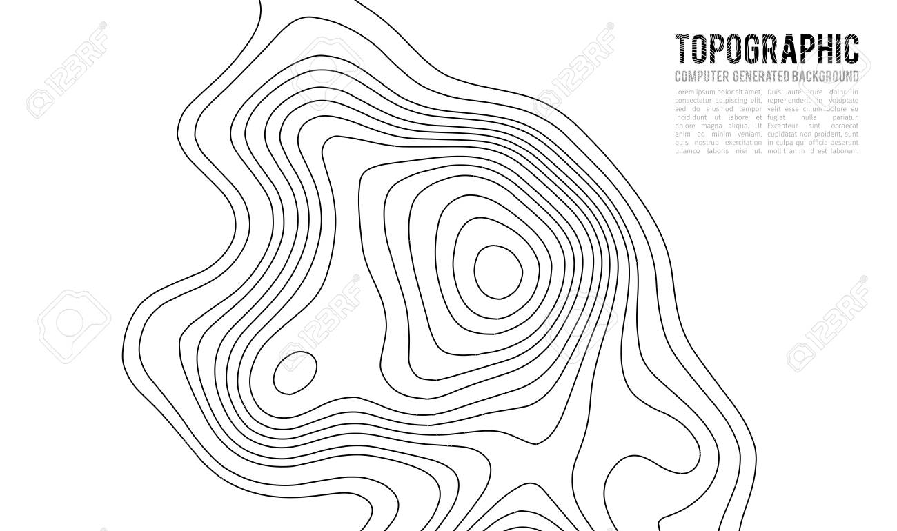 Topographic map contour background topo map with elevation stock illustration topographic map contour background topo map with elevation contour map vector geographic world topography map grid abstract vector gumiabroncs Images