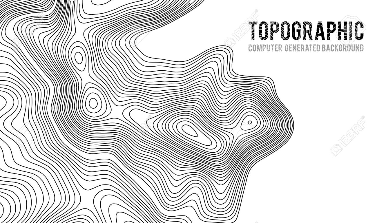 How Do You Find The Elevation On A Topographic Map.Topographic Map Contour Background Topo Map With Elevation